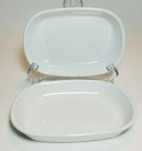 "Set of 2 Corning Ware Sidekicks, P-140-B, 4 1/2""  x 6 3/4""  Snack Dishes - $9.85"