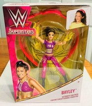 "WWE Superstars 6"" BAYLEY Doll  Wrestling Action Figure NIB - $18.80"