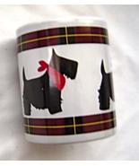 Scotty Dog Mug Red White & Black Ceramic Mug by Scottie Dept. 56 - $9.95