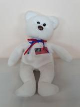 "Ty Beanie Babies 8"" Libearty the American Bear Plush - $9.99"
