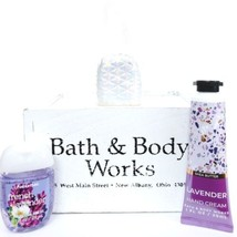 Bath & Body Works Lavender Hand cream, Pocketbac with Hologram Holder - $20.30