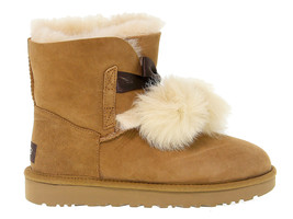 Ankle boot UGG AUSTRALIA 8517 in beige suede leather - Women's Shoes - €214,57 EUR