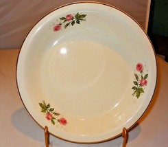 Hall Superior Quality Kitchenware Pie Plate Heather Rose Collection Dinn... - $35.00