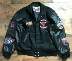 Jeff Hamilton Chicago Bulls Jacket-Limited Edition-90's Fashion-Size M-Champions - $1,980.00
