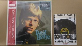David Bowie Debut Album Lp With Record Store Day Rsd 2018 Catalog Deram - $122.99