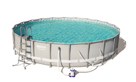 "Bestway Power Steel 14' x 42"" Frame Swimming Pool Set - Ready to Ship image 2"