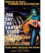 THE DAY THE EARTH STOOD STILL - CLASSIC MOVIE POSTER - 24x36 - $23.00