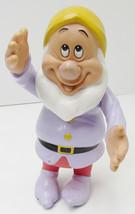 "Vintage Disney Dwarf'S Rubber/Vinyl/Hard Plastic 6"" Tall Movable Figurin... - $5.99"