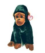 """Ty Beanie Buddy Baby Congo Gorilla Monkey Ape Plush Stuffed Animal 12"""" NWT - $7.56"""