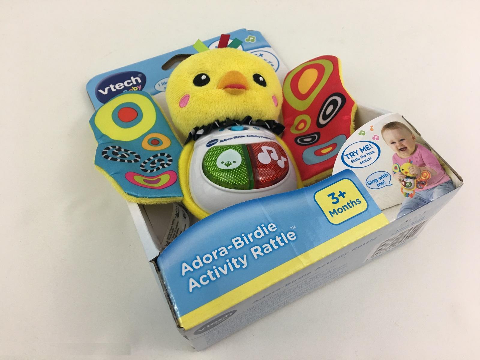 VTech Baby Activity Rattle Bird BirdieLearning Play Toys Music Educational New