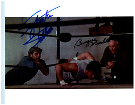 ROCKY - STALLONE & MEREDITH Signed Autographed Cast Photo w/COA 110 - $160.00