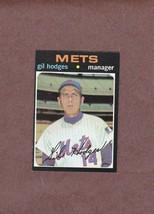 1971 Topps # 183 Gil Hodges New York Mets Nice Card - $3.99