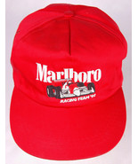 MARLBORO RACING TEAM '92 Hat-Red-Embroidered-Snapback-Indy Car-Cigarette... - $16.82