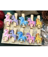display wooden clips,art work hanger pegs,clothespins,birthday party dec... - $3.20+