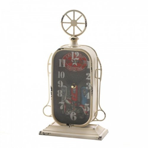 Gas Station Tabletop Clock - $22.99
