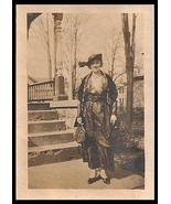 Antique Photo Identified Florence Hannah Kinder Oneonta NY 1919 Fashion ... - $15.99