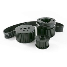 A-Team Performance Gilmer Style Pulley Kit Compatible with Chevrolet BBC Big Blo