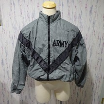 US Army Issue PT Physical Fitness Camo IPFU Uniform Jacket Large Short  - $20.90