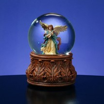 The San Francisco Music Box Company Angel Playing Mandolin Water Globe - $51.72