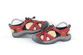 Keen Newport H2 Womens Size 7.5 Waterproof Outdoor Hiking Sport Sandals Red - $59.35
