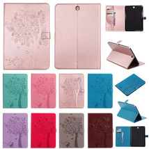 """for Samsung Galaxy Tab A 8"""" T350 T355 Smart Magnetic Embossed Leather Co... - $13.00"""