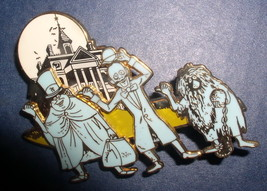 Haunted Mansion Hitchhiking Ghosts Cast member Authentic Disney  DLR  Pin - $195.00