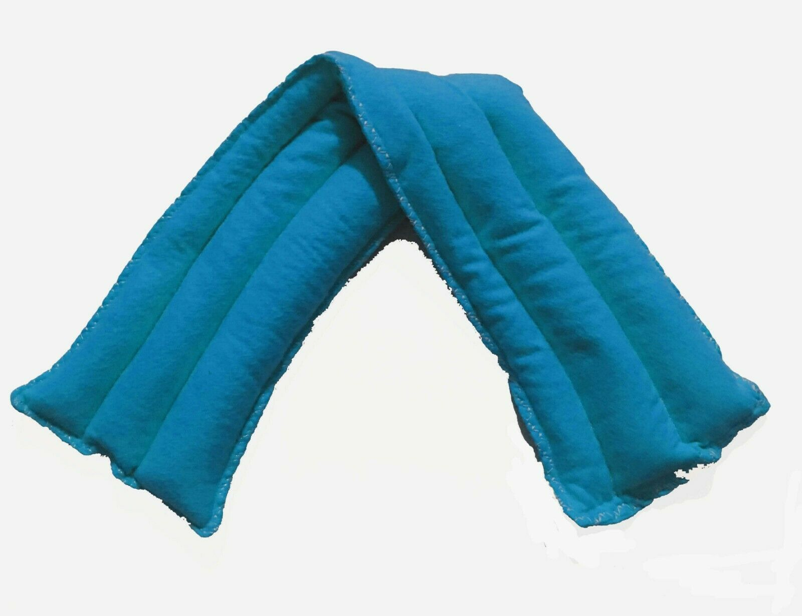 Primary image for Teal Neck Size You Pick a Scent Ricepack Microwaveable Hot Cold Pack Rice Pad