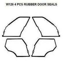 Seals Weatherstrip Seal Gaskets 500 SEL 450 SEL Mercedes Benz W126 SEL 4... - $111.27