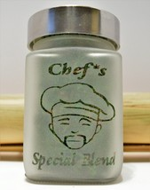 Chefs Special Blend with Pot Leaf Stash Jar By Twisted420Glass - $24.99