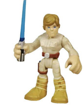 Star Wars Hasbro Galactic Heroes Imaginext Figure Luke skywalker Mini Toy - $9.89