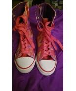 Aviva Hi-Top Sneakers Rainbow Pink Yellow Purple Camouflage Sequin Girls... - $16.69