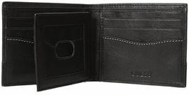 Guess Men's Premium Leather Credit Card ID Billfold Wallet Black 31GU20X001 image 3