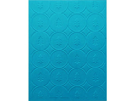 Cuttlebug Trees in Circles Embossing Folder, Great for Card Making!