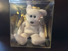 "TY Beanie Babies ""HALO II Angel Teddy Bear - Mint  on display box - $23.74"