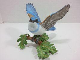 THE LENOX GARDEN BIRD COLLECTION Western Scrub Jay (2001 Fine Porcelain) image 4