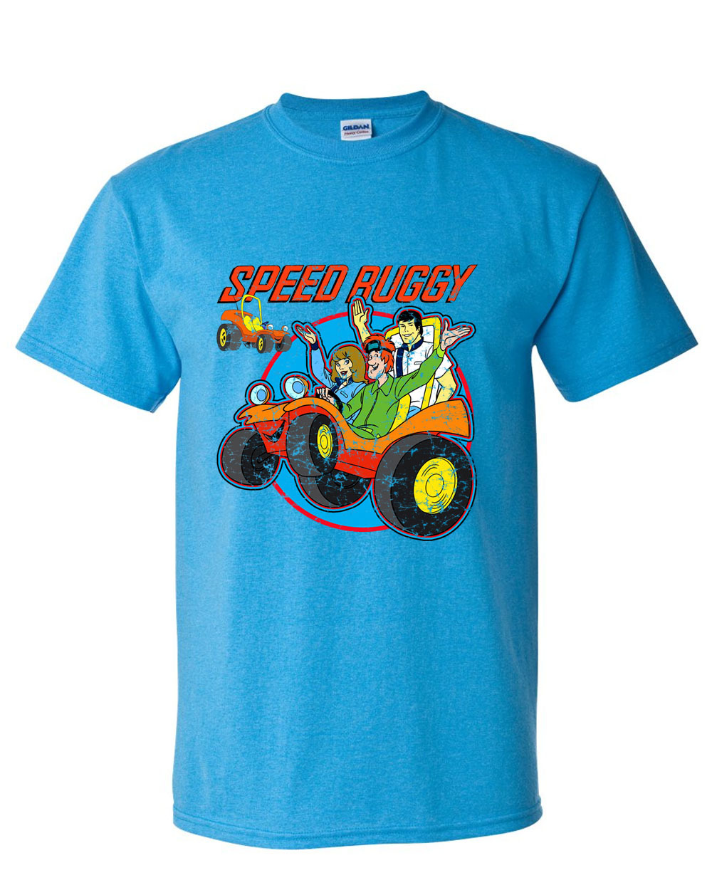Raphic tee store scooby doo saturday morning cartoons  1970s jabber jaw josie and the pussy cats