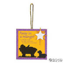 Away in a Manger Ornament Craft Kit - $9.25