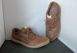 """CLARKS - Men's Brown Leather/Suede """"62092"""" Sneaker - SIZE 8-M - $19.95"""