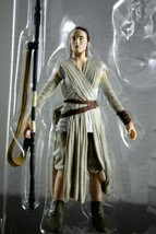 "Rey Jakku Scavenger Star Wars Black Series 6"" Action Figure 02 Loose No BB-8 - $10.99"