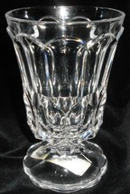 Mikasa AUSTRIAN LEAD CRYSTAL Stockton Pattern FOOTED VOTIVE HOLDER Great... - $15.83