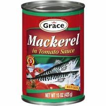 Grace Mackerel in Tomato Sauce, 15oz - $19.79