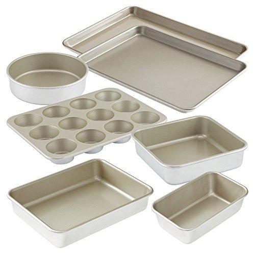 American Kitchen Cookware 7-pc Nonstick Bakeware Set: 15