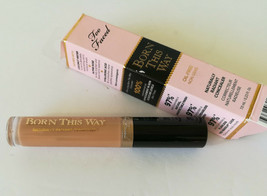 Two Faced Born This Way Med Tan Naturally Radiant Concealer Corrector Oi... - $10.99