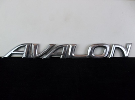 "1997-2004 Toyota ""Avalon"" Chrome Plastic Trunk Emblem OEM 75442-AC010 - $10.00"