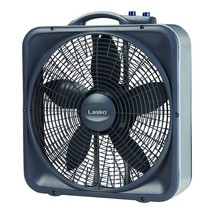 Lasko Weather-Shield Select 20 in. 3-Speed Box Fan with Thermostat - $20.00