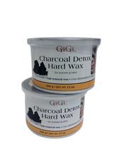GiGi Charcoal Detox Hard Wax 13 OZ Pack of 2 - $28.69