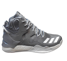 ADIDAS D ROSE 7 NBA BOOST BASKETBALL MEN SHOES GREY/WHITE *38931 SIZE 13... - $128.69