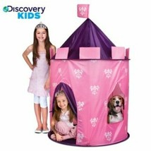 Discovery Kids Indoor / Outdoor Pink Girls Princess Play Castle Tent w/ ... - $45.48
