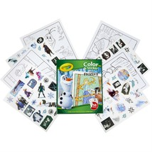 Crayola Art Disney's Frozen II ~ 32 Coloring Pages & 50 + Stickers New - $6.99