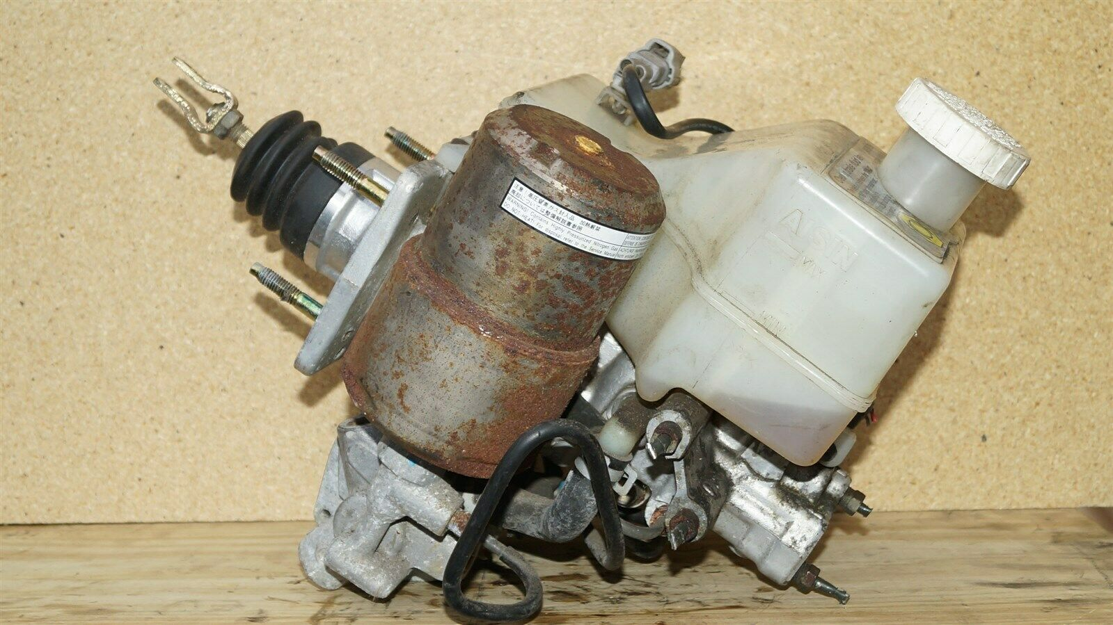 03-06 Mitsubishi Montero Limited Abs Brake Pump Assembly MR527590 MR569729
